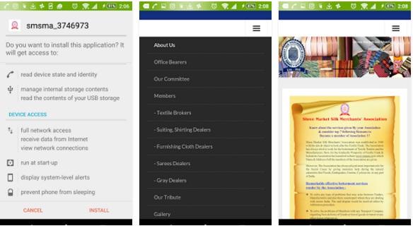 Textile Association | Art & Design Mobile Application Bangalore