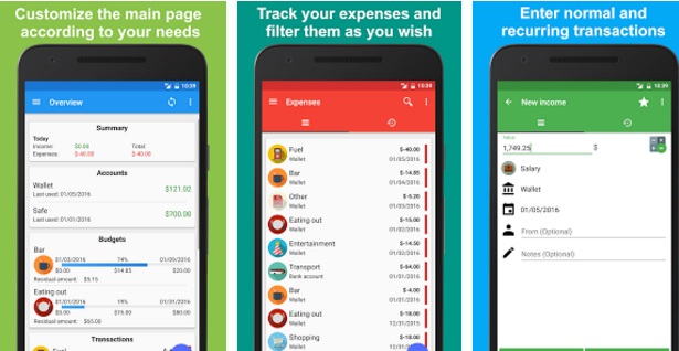 Fast Budget – Expense Manager | Finance solutions | Mobile Applications