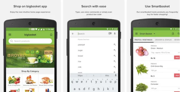 bigbasket – online grocery | Free Android Online Shopping Apps