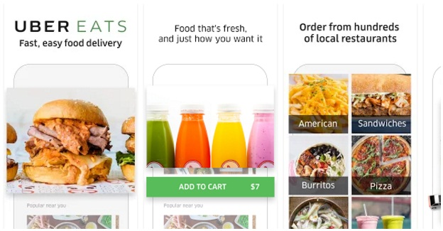 UberEATS-Food Delivery App