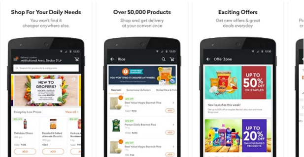 Grofers-Order Grocery Online | Online Shopping Mobile App