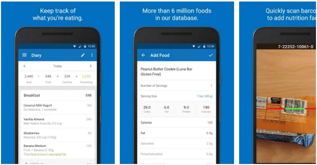 Calorie Counter-MyFitnessPal | Health & Fitness Android Apps