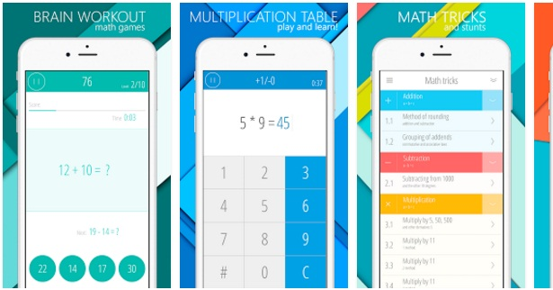 Math Android games | Mathematics | Educational Android Apps
