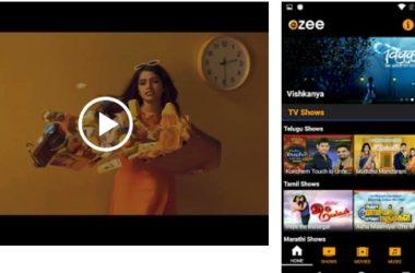 OZEE Free TV Shows Movie Music App