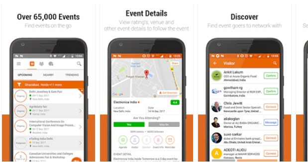 10times-Events Finder App | Event Android Apps | Lifestyle Apps
