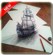 3D Drawing Art Design