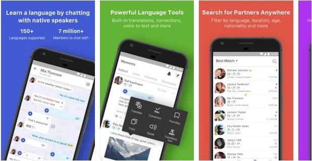 HelloTalk Learn Languages Free |  Business & Communication Apps