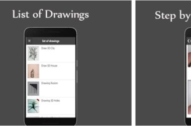 Draw 3D art design app