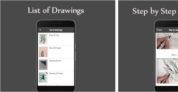 How To Draw 3D  | Art & Design Apps | Business App | Android Apps