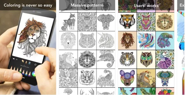 Animal Coloring Book App | Sketch & Colour Apps