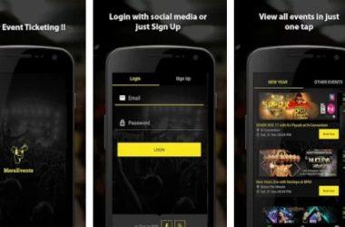 Mera Events App