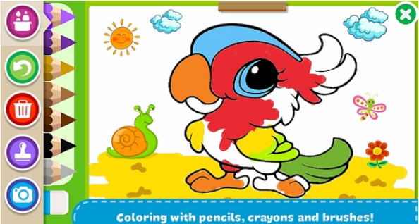 Coloring Book – Kids Paint | Sketch & Colour App