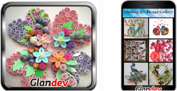 Quilling Art Design Gallery | Art & Design Android App