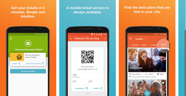 Ticketea App