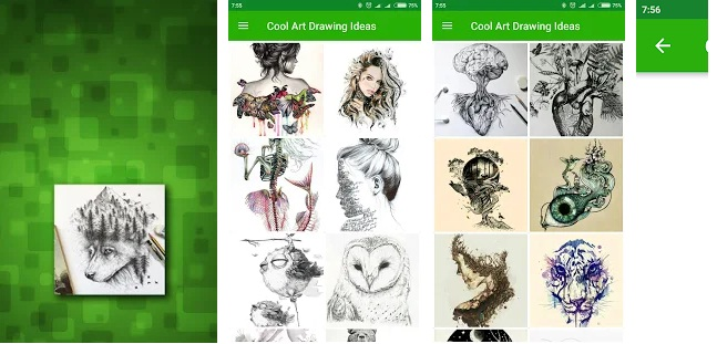 Cool Art Drawing Ideas | Download Art & Design App