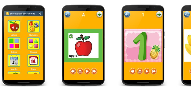 Educational Games for Kids | Android Game Apps | Educational Apps