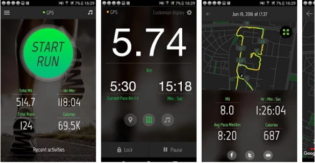 Running Distance Tracker App | Health and Fitness Apps
