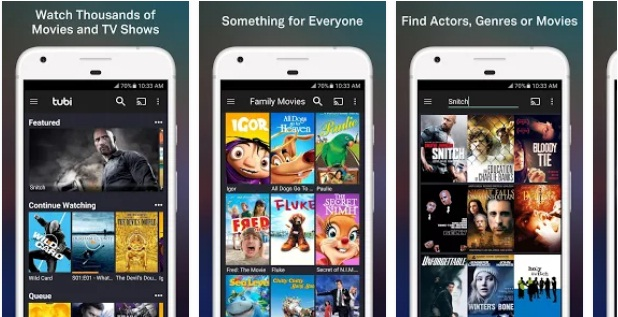 Tubi TV |  Movies and TV Show App