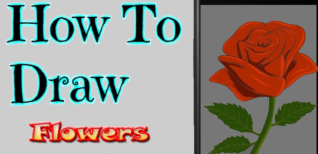 How to Draw Flowers App | Free Download Drawing Apps