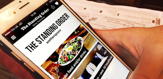 Wetherspoon Android App Free Download | Food And Drink App