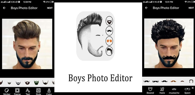 BoyzPix – Photo Editor and Beard Maker App Free Download