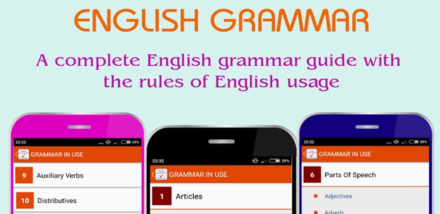 English Grammar Complete Handbook Android App Download