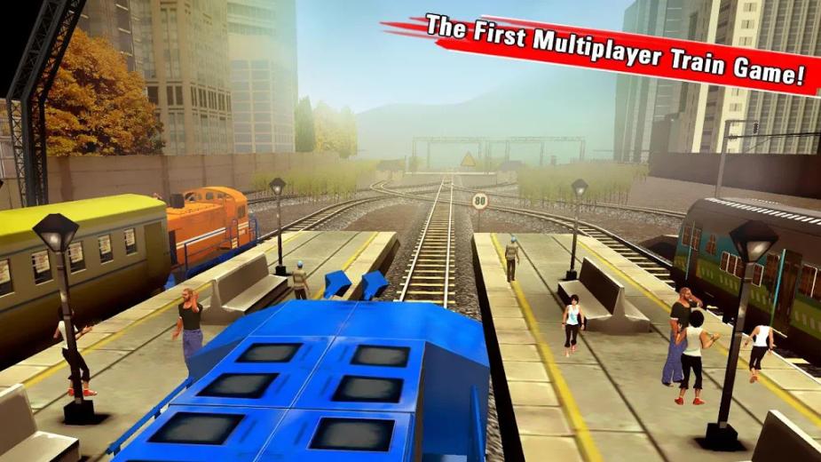 Train racing