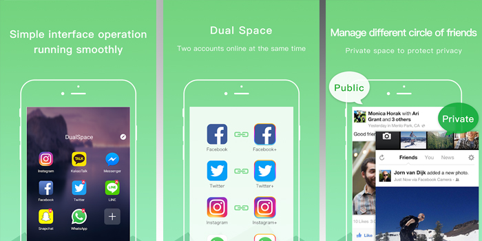 Dual Space - Multiple Accounts & App Cloner