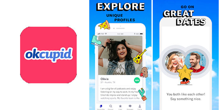 OkCupid – The No.1 Online Dating App for Great Dates