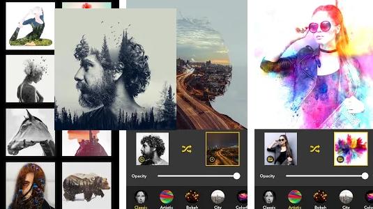 Blend Photo Editor – Artful Double Exposure Effect