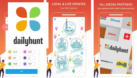 Dailyhunt (Newshunt)- Cricket, News,Videos
