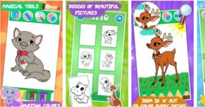 Coloring games for kids animal_MobileApplicationBangalore