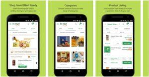 DMart Online Grocery Shopping