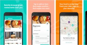 Deliveroo-Restaurant Food Delivery App