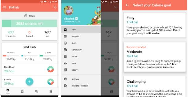 MyPlate Calorie Tracker App