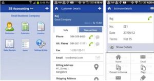 Small Business Accounting Android App