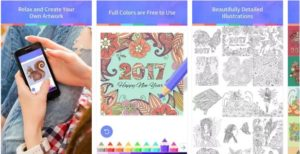 Coloring Book Android Mobile App 2017