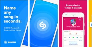 Shazam Encore Android Mobile Apps