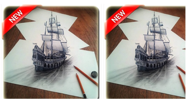 3D Drawing Art Design App