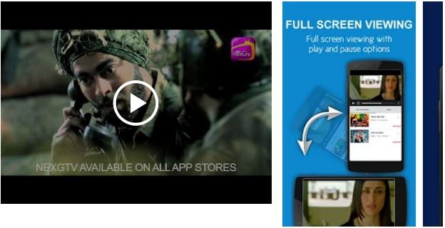 nexGTv HD-Mobile Entertainment App