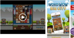 Word Wow Big City-Help Worm App