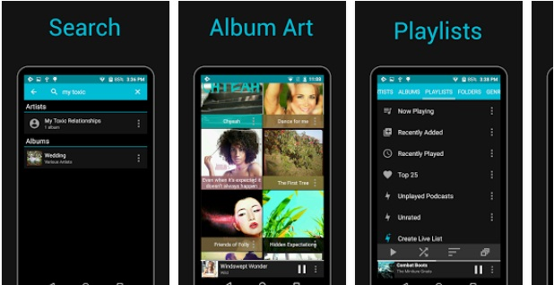 Rocket Player: Music Player Android App