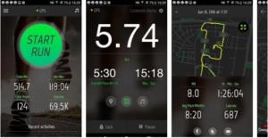 Running Distance Tracker App