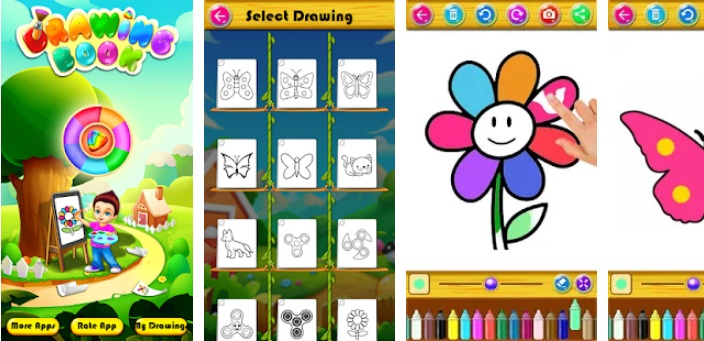 Drawing and Coloring Game