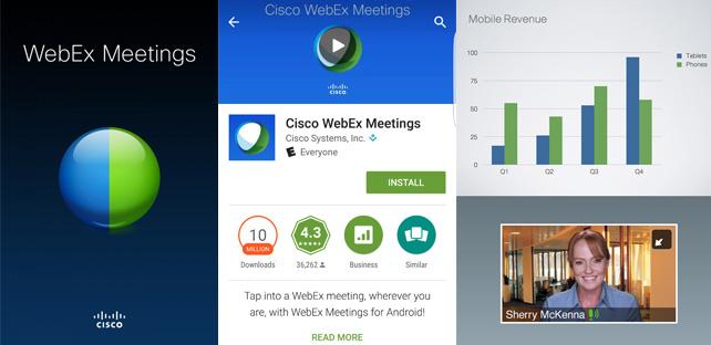 Cisco Webex Meeting App